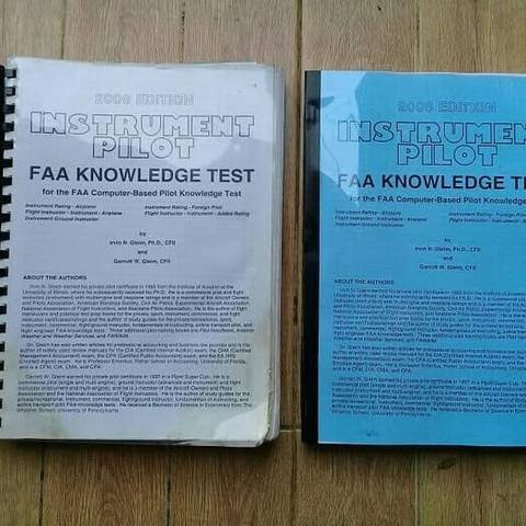 BUKU INSTRUMEN PILOT FAA KNOWLEDGE TEST FOR THE FAA (fc)