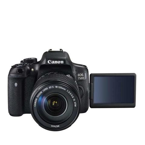 Canon EOS 750D - 24MP - Kit 18-55mm IS STM - FREE memory 16GB Sandisk
