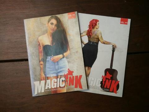 majalah tatoo magic ink paketan
