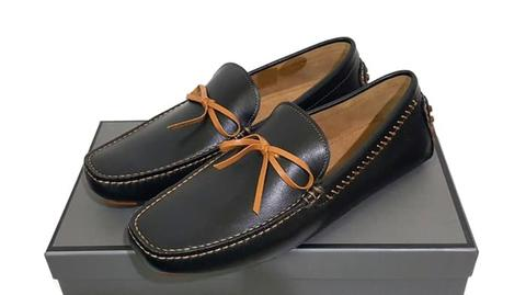 Moccasins Leather Shoes PM-327 PEDRO SHOES