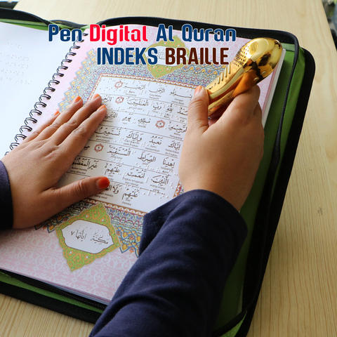 Pen Digital Al Quran Indeks Braille Tunanetra TERBARU