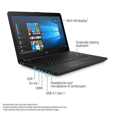 PROMO HP 14-E2 9000e-4GB-32GB-RADEON R2 Win10 Black