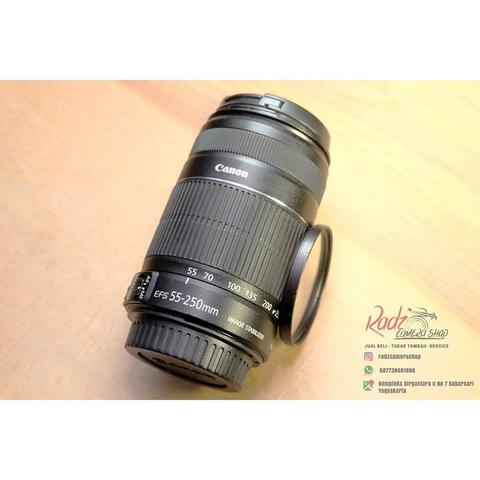 [Radz Camera Shop] Canon EFS 55-250mm f/4-5.6 IS II Mulus