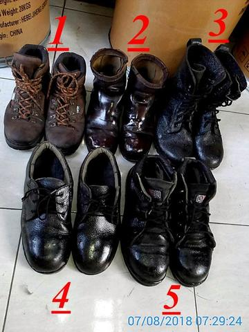 sepatu out door safety kulit arei howler pdl