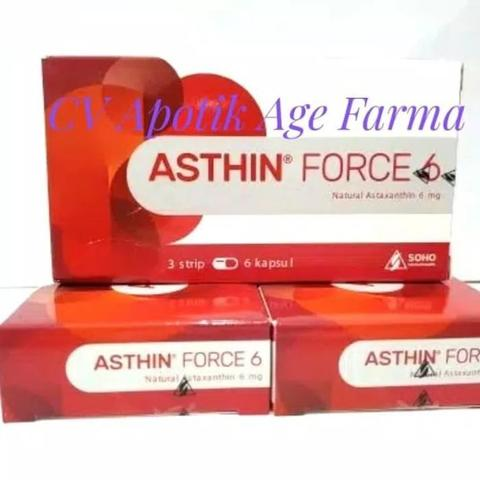 Asthin Force 6 Capsule isi 18 (Soho)