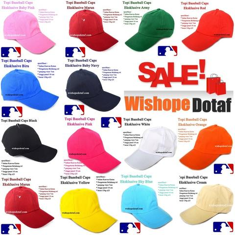 Topi Baseball Caps Eksklusive