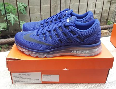 Nike Air Max 2016 deep royal blue racer BNIB original