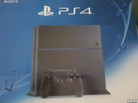 New ps4 ref 500 gb full game hen