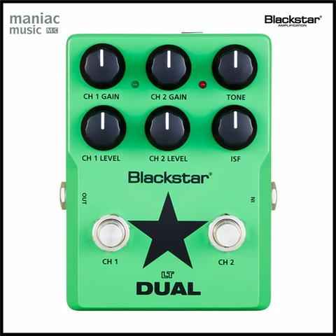 Blackstar LT DUAL (Efek Gitar, Bass, Distorsi, Overdrive, Crunch)