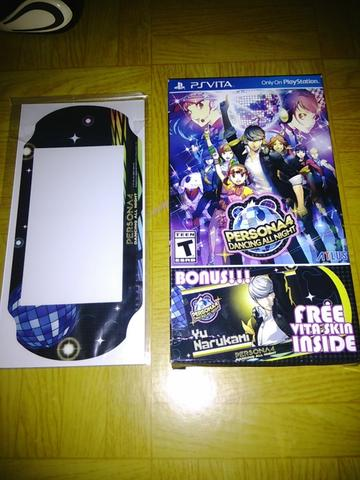Garskin official ps vita slim persona 4 dancing