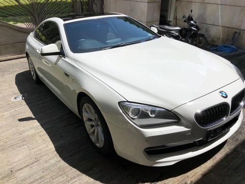 BMW 640i COUPE WHITE ON CINNAMON 2012