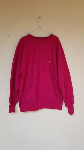 Crewneck Champion Red Original Size XL USED
