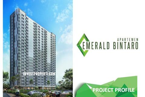 Dijual Apartment Emerald Bintaro Tower B (Over kredit) (BU)