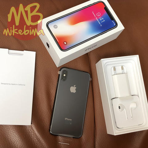 iPhone X 256GB Space Gray NEW Replacement Garansi Resmi iBox iOS 11.2.2