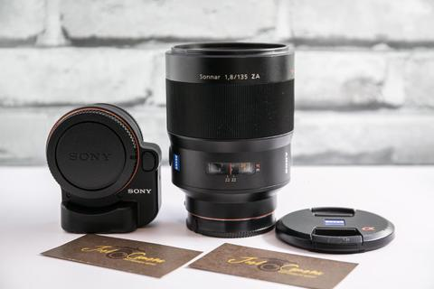JOELCAM - SONY ZEISS SONNAR 135MM F1.8 ZA WITH SONY ADAPTER LAEA4 - BOKEH MONSTER