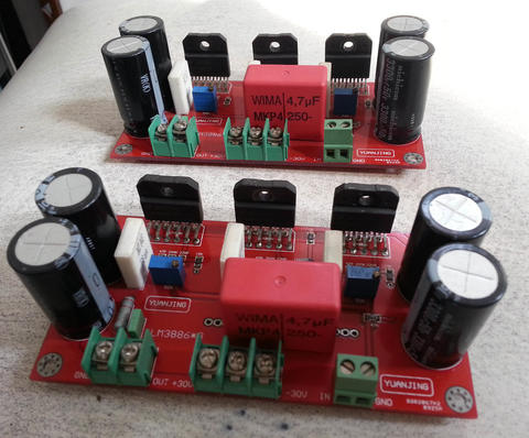 Kit Amp LM3886 pararel 3 150W x 2