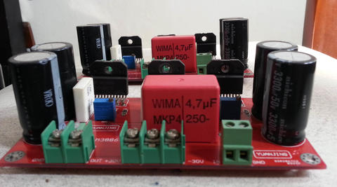 Kit Amp LM3886 x 3 150W Gainclone