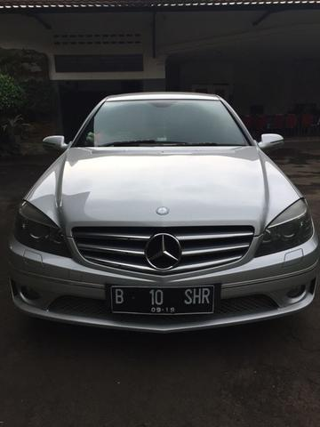 MERCEDES BENZ CLC200 COUPE SILVER ON BEIGE 2009/2011