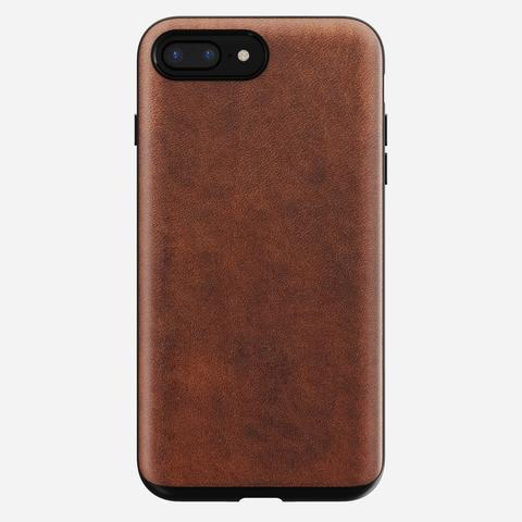 Nomad Horween Leather Rugged for iPhone 7 Plus or 8 Plus