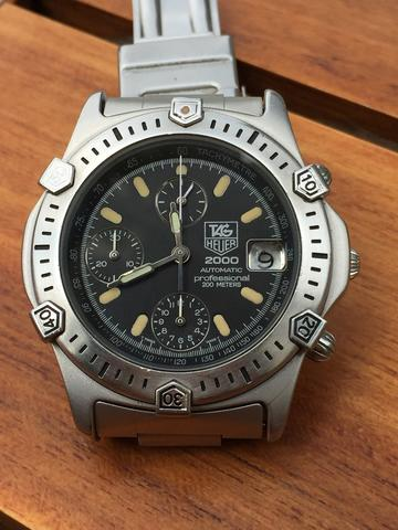 ORIGINAL TAG HEUER 2000 CHRONOGRAPH AUTOMATIC (VALJAOUX 7750)