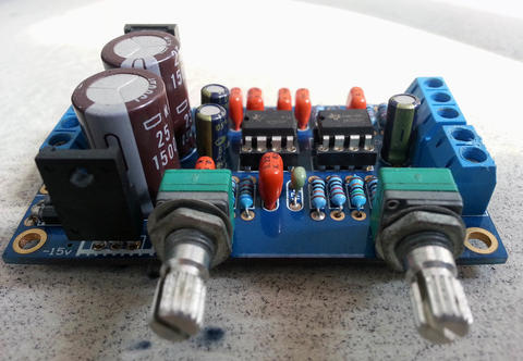 Preamp Low Pass - subwoofer : gainclone