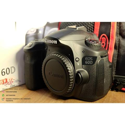 [Radz Camera Shop] Canon 60D BO Ex DS SC 2rb-an Mulus Mantap