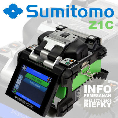 READY STOCK ! Splicer Sumitomo Z1C - 100% Original