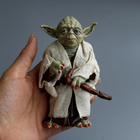 Star Wars Master Yoda Action Anime Figure