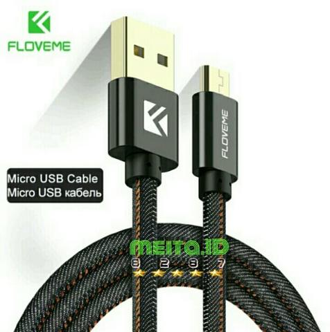 Charger cable FLOVEME Original Micro USB Cable 2.1A Fast Charger Data Sync 1m