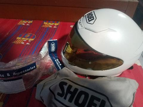 Shoei Z7 size XS fit S White