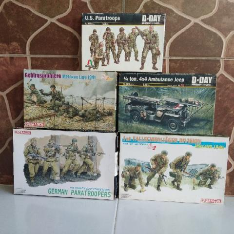 Jual Paket Model Kit Military (5 box)