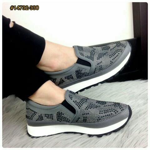 NEW DESIGN Sepatu Fashion Wanita Murah Sneakers Shoes ORIGINAL BRAND #14732-3302