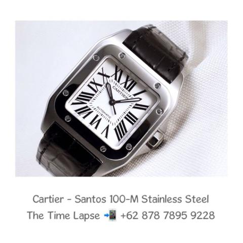 Cartier - Santos 100-M Stainless Steel