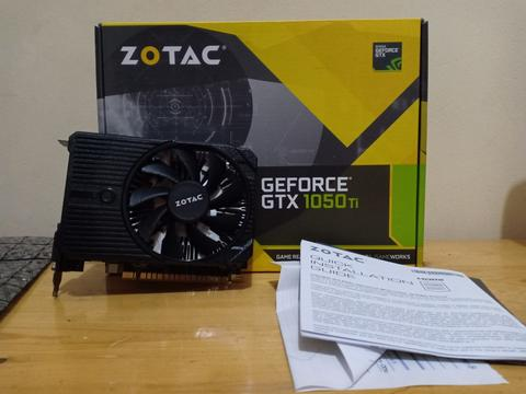 VGA Zotac GTX 1050ti 4GB Mini