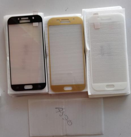 Tempered glass A520 color full cover termurah