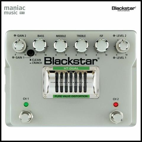 Blackstar HT DUAL (Efek Gitar, Distorsi, Clean, Crunch, Lead, Tube)