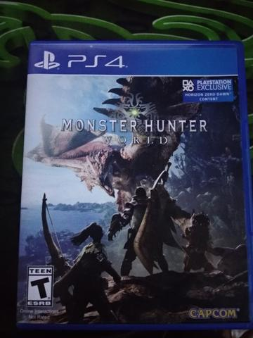 BD PS4 Monster Hunter: World