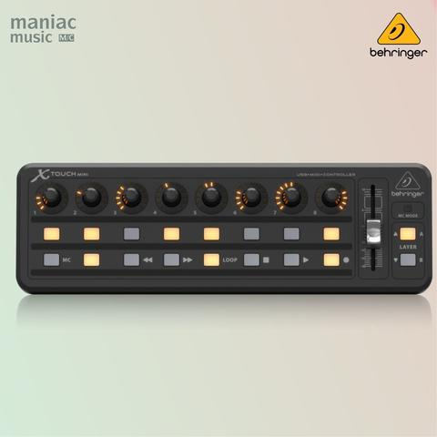 Behringer X-Touch Mini (USB Controller, MIDI, DAW, Lighting, Effect)