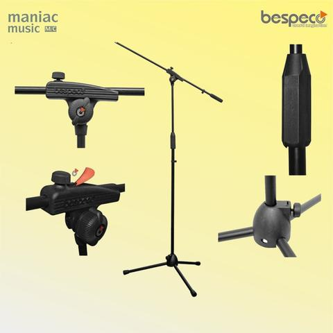 Bespeco MS3ONE (Stand Mic, Pick Holder, Boom, Kaki Tiga)