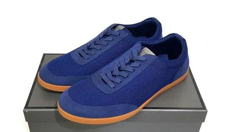 Blue Sneakers Leather Shoes PM-366 PEDRO SHOES