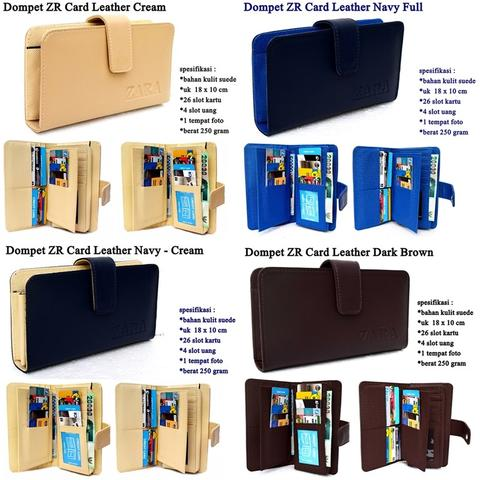 Dompet ZR Card Leather