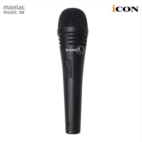 Icon D2 (Mic Vocal, Dynamic, Live, Recording, Smooth, High Quality)