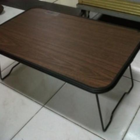 Meja Laptop Kayu Foldable