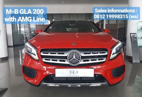 MERCEDES-BENZ GLA 200 AMG BEST OVER DEAL EVER!!! ONLY @ ATPM MERCEDES-BENZ JAKARTA!!!
