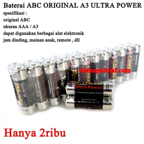 Obral Batrai / Baterai Battery ABC Ultra Power