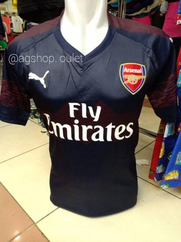 jersey arsenal away terbaru new 2018/2019 ,grade ori 100% import thailand