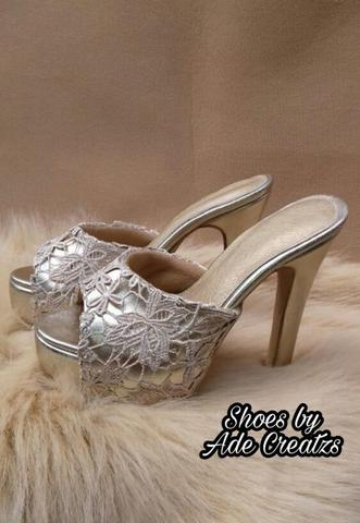 Selop high heels Farida (PO 14 hari)