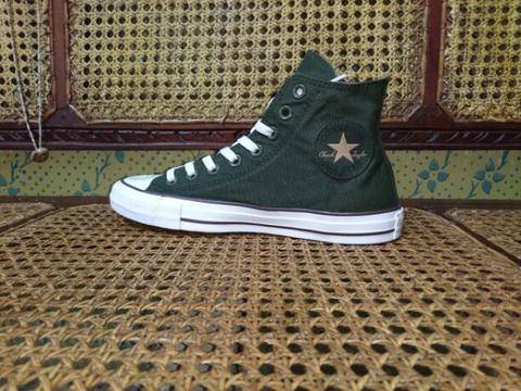 converse green army high original