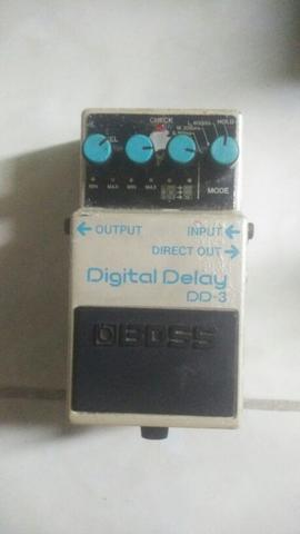 FS Effect Stomp Box BOSS DIGITAL DELAY DD-3 Taiwan