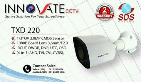 cctv innovate 2mp 5 in 1